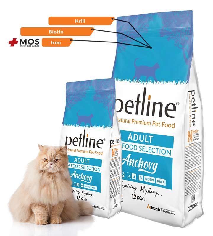 Petline Anchovy Deniz Mahsüllü Kedi Maması