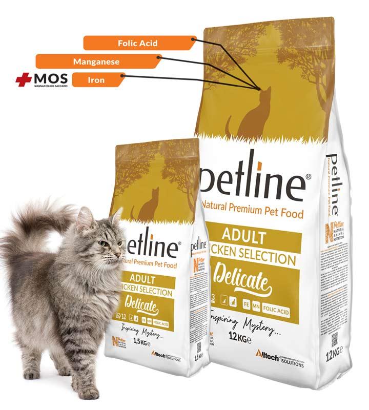 Petline Delicate Tavuklu Kedi Maması