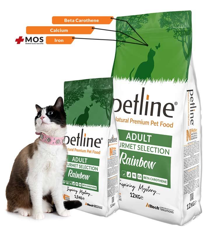 Petline Rainbow Gurme Kedi Maması