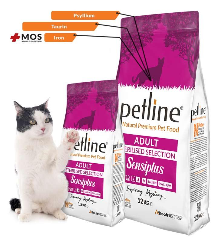 Petline Sensiplus Kısırlaştırılmış Kedilere Özel Mama